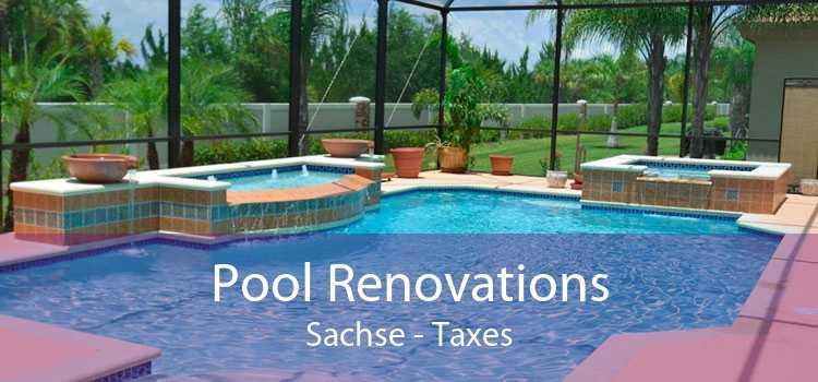 Pool Renovations Sachse - Taxes