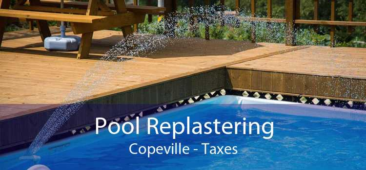 Pool Replastering Copeville - Taxes
