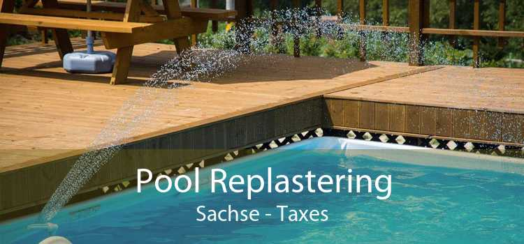 Pool Replastering Sachse - Taxes