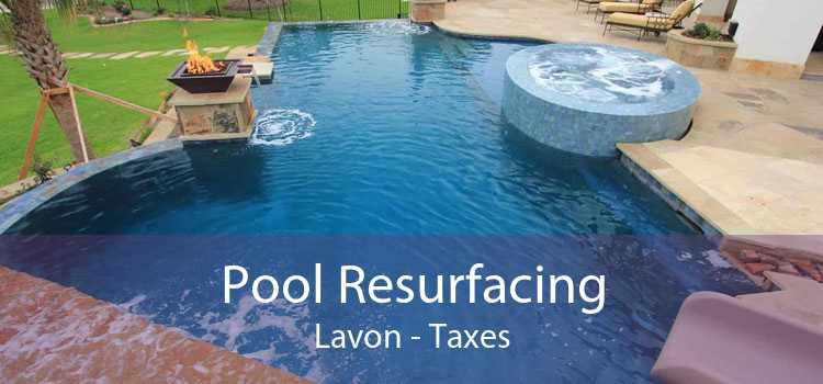Pool Resurfacing Lavon - Taxes